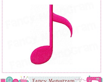 Musical Notes embroidery,Musical Notes,Musical Notes design,Birthday embroidery,Band design.-02
