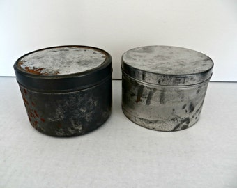 Old Vintage Tins Will Hold Just About Anything Small