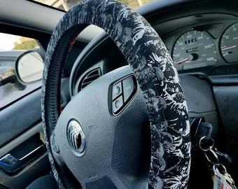 The Walking Dead Steering Wheel Cover
