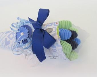 Baby Bouquet Baby Shower Gift, Baby Washcloth Bouquet, Baby Flower Bouquet, Baby Boy Shower Gift, Baby Girl Shower Gift, Shower Centerpiece