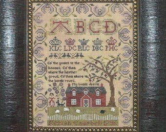 "NEEDLEMADE DESIGNS ""Keziah Campbell 1796"" 