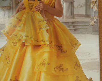 Belle Ball Gown Etsy