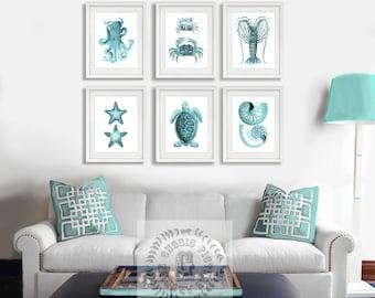 Living Room Decor Turquoise turquoise decor | etsy