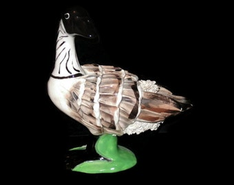 Vintage Canadian Goose, Figurine, Vintage,  Home Decor, Vintage Statue, Goose Figurine, Collector Goose, Table Decor, Farm Decor, Cabin Deco