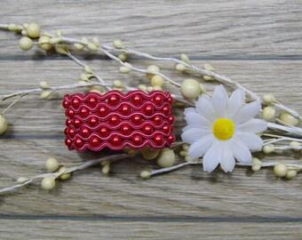 bracelet  / soutache technique / handmade (nr383)
