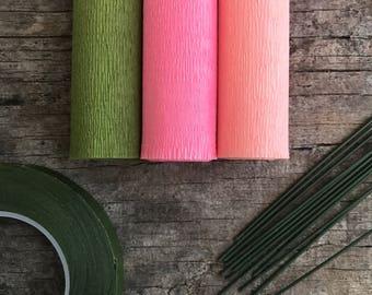 60g - DIY Italian Crepe Paper - Kit 7