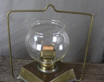 Vintage Brass Paraffin Lantern