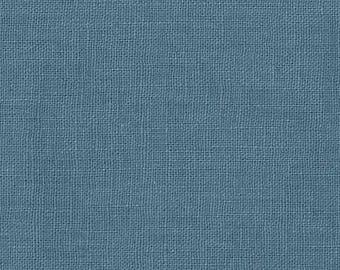 Linen Fabric, Blue linen,  Fabric Australia