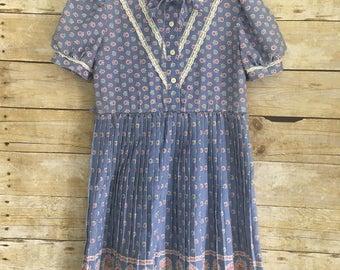 Vintage Girl's JCPenney Dress Size 7