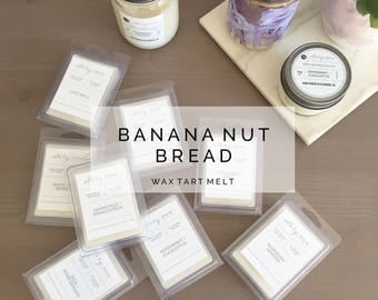SALE Banana Nut Bread - 100% soy wax tart melt