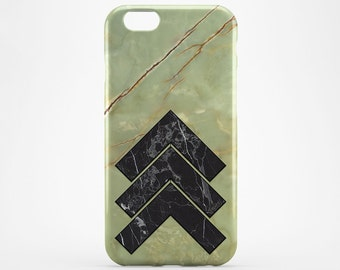 Green Marble iPhone 8 Case iPhone X Case Black Marble Cover iPhone 7 Plus iPhone 6 Case iPhone 7 Case iPhone SE Case iPhone 5 Galaxy S8 Case
