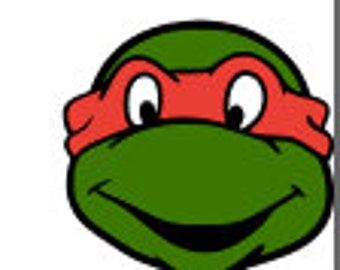 SVG, ninja turtles, turtles, rafael, red ninja turtle, cut file, printable,  cricut, silhouette, instant download