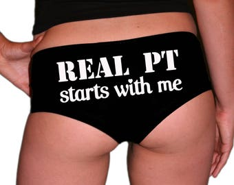 Military Panties. Marine Wife. Air Force Girlfriend. Air Force Wife. Army Girlfriend.Navy Wife. Military Gift. Real PT.