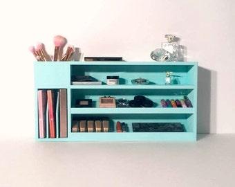 Makeup Organizer   Makeup Case   Makeup Shelf   Makeup Storage   Cosmetic Display   Makeup Box   Gifts for Her   Makeup   Stylist Gift