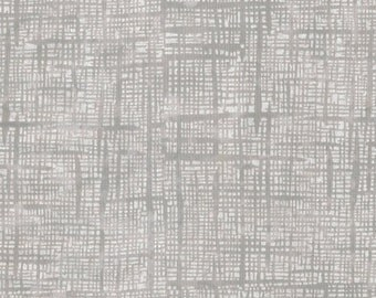 """Pearl Grid Gray 108"""" Wideback from Blank Quilting by the yard"""