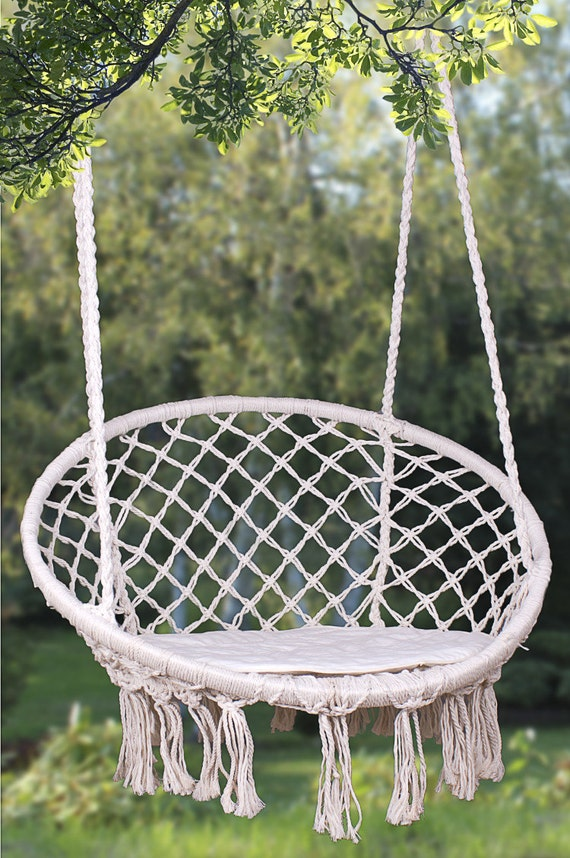 hanging macrame chairs macrame hanging hammock chair 475