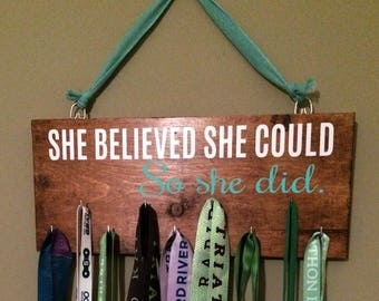 She Believed She Could Vinyl Sticker