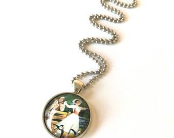 Supercalifragilisticexpialidocious Mary Poppins - Upcycled Necklace