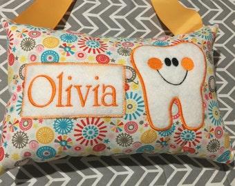Girls Tooth Fairy Pillow