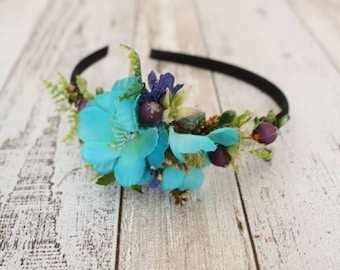Headband - Turquoise Blue