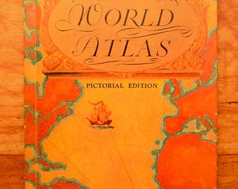 Rand McNally World Atlas Pictorial Edition