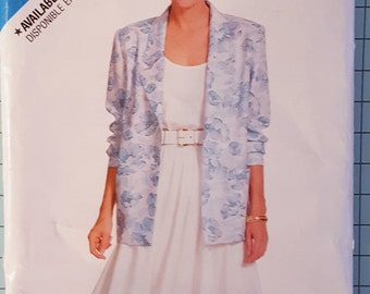 See and Sew 6174 Misses Jacket, Top and Skirt Size 8-12
