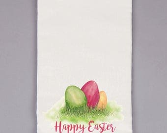 Natural Flour Sack Towel - Easter
