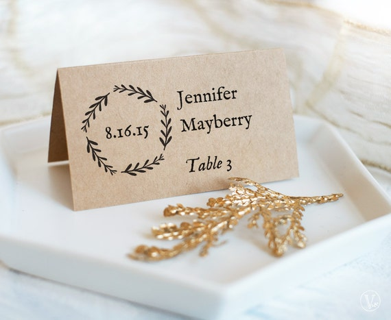printable wedding place cards and escort cards foldover and