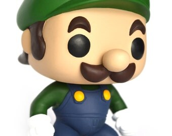 Custom out Pop - Mario Luigi