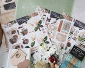 Studio Light My Botanic Garden Paper and Mixed Media Kit, Garden lovers Paper and Cardmaking Kit, Crafting at Home