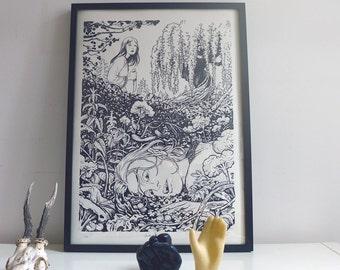 BALLADYNA print A3 (29.7x42cm)