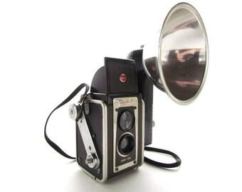 Kodak Duaflex IV Camera, 620 Film Camera with Original Flash Bulb! #B045