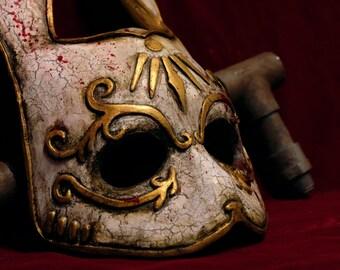 Splicer Bunny mask Bioshock inspired
