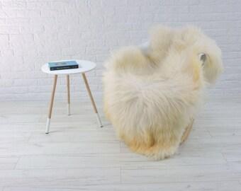 Genuine Icelandic sheepskin rug, single, 145cm x 85cm, G584