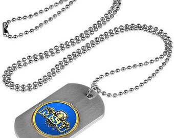 Morehead State Eagles Stainless Steel Dog Tag Necklace
