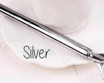 Diamond pen silver
