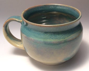 Hand Thrown Mug, Porcelain