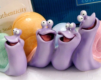 Disney Snails Sing Along Snails - The Little Mermaid Retired Vintage WDCC Collectible Figurine Gift Ideas