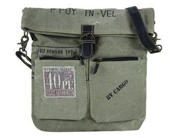 Sunsa woman Messenger bag cross body canvas bag Artno.: 51849