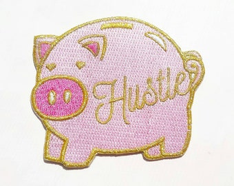 HUSTLE PIGGY PATCH