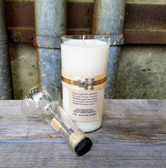 Basil Hayden Kentucky Bourbon Whisky Soy Candle