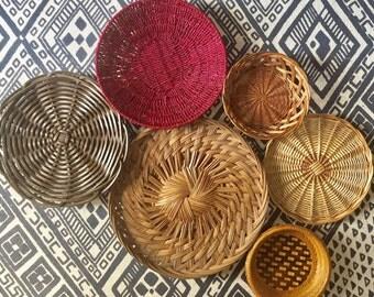 Basket wall set of 6