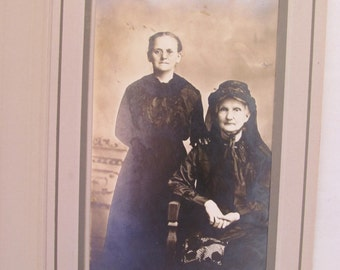 Vintage Photo of Two Women