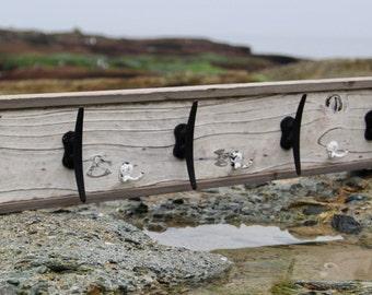 Dock Cleat Coat Rack, Wall Mounted Coat Hanger, Beach Coat Rack, Nautical  Key Part 96