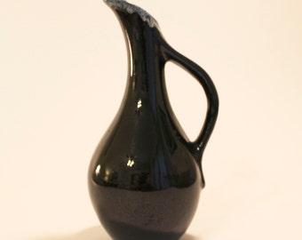 A Vintage Van Briggle Pottery Drip Glaze Ewer