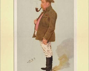 Vanity Fair Print / Lithograph : A.G. Hales 1908