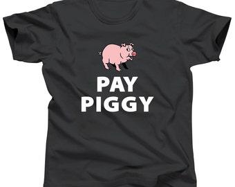 Paypig Shirt Pay Piggy Gift Femdom Shirt Findom BDSM Tee Dominant Gift Bdsm Clothing Bondage Fetish Clothes Slave Bdsm Fetish Submission