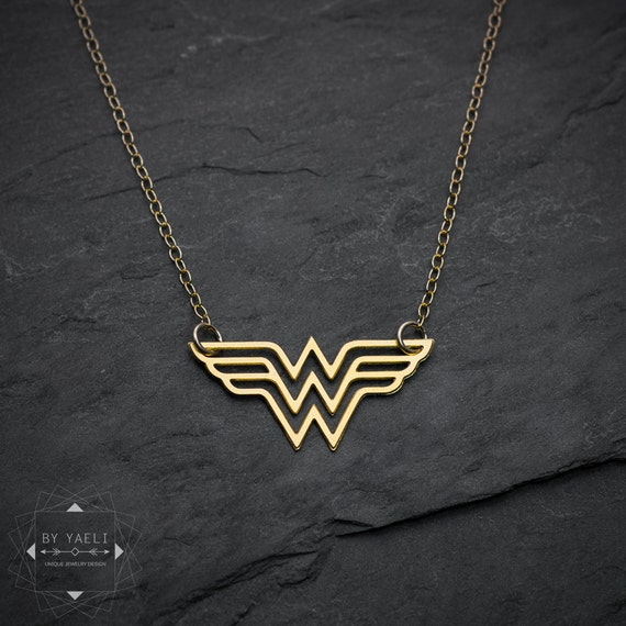 Wonder woman necklace super hero jewelry comics jewelry like this item aloadofball Image collections