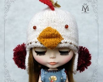"""Blythe Hat """"Gallina"""""""