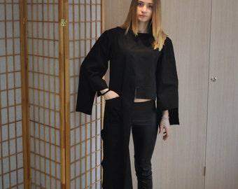 New! Oversize Asymmetrical Loose Extravagant Shirt